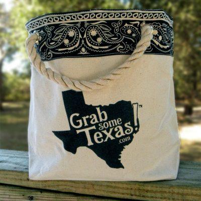 Texas Bandana Cotton Tote