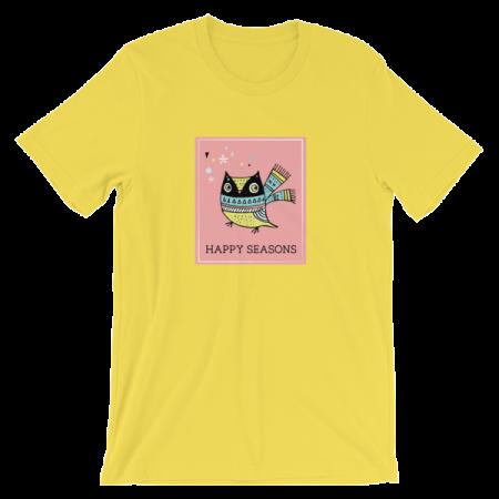 Cheery Owl Unisex T-shirt