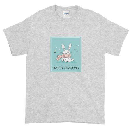 Huggable Holiday Rabbit T-shirt
