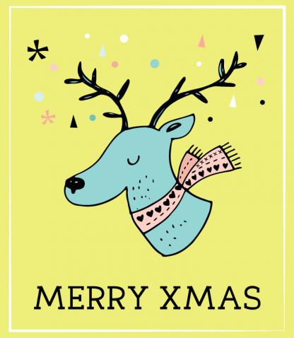 Peaceful Reindeer