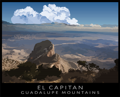 El Capitan Peak, Guadalupe Mountains