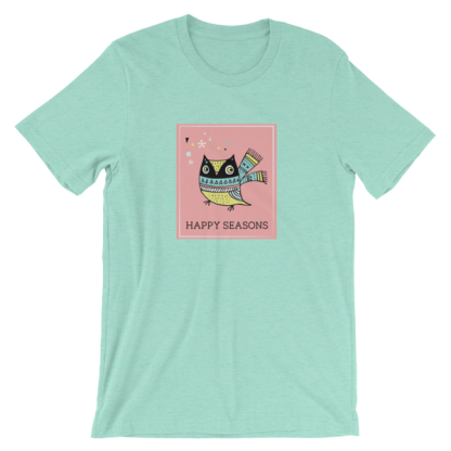 Cheery Owl Unisex T-shirt