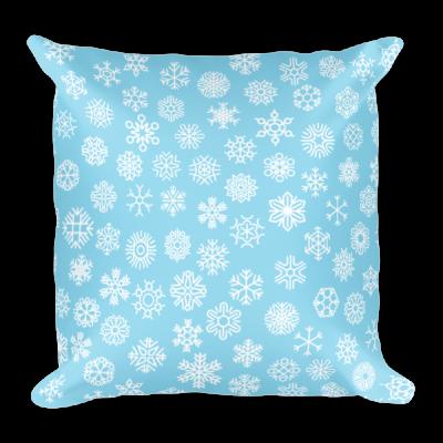 Snowflakes Pillow