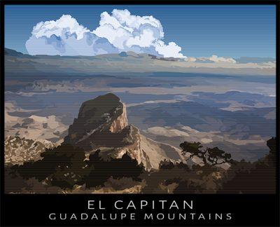 El Capitan, Guadalupe Mountains