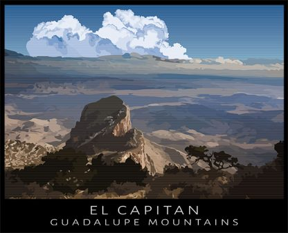 El Capitan, Guadalupe Mountains